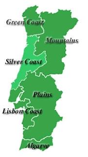 Cenario Oeste Portugal Silver Coast Properties - Portugal map silver coast